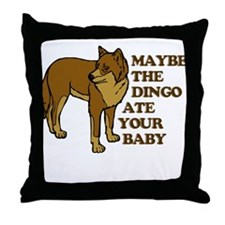 Dingo Baby Seinfeld Throw Pillow