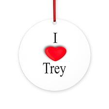 Trey Ornament (Round)
