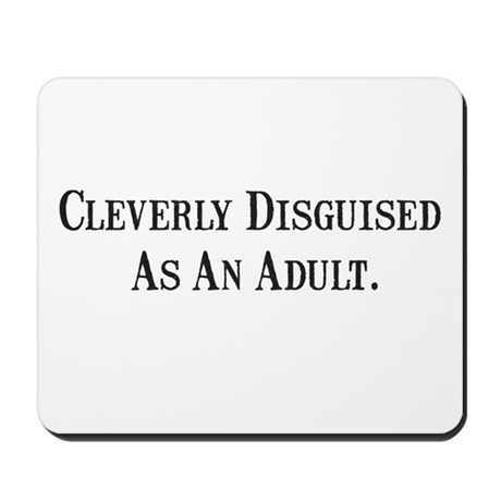 Cleverly Mousepad