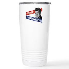 Retro Kennedy 1960 Travel Mug