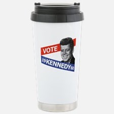 Retro Kennedy 1960 Travel Mug