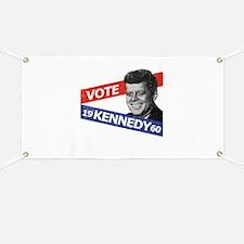 Retro Kennedy 1960 Banner