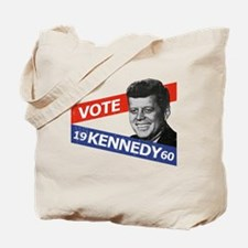 Retro Kennedy 1960 Tote Bag