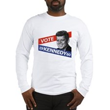 Retro Kennedy 1960 Long Sleeve T-Shirt