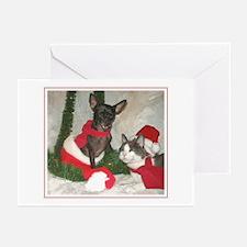 Mewy Pupmas III Greeting Cards (Pk of 10)