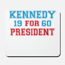 Vote Kennedy 60 Retro Mousepad