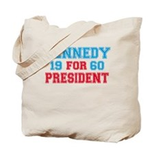 Vote Kennedy 60 Retro Tote Bag