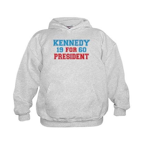 Vote Kennedy 60 Retro Kids Hoodie