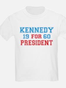 Vote Kennedy 60 Retro T-Shirt
