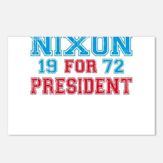Retro Nixon 1972 Postcards (Package of 8)
