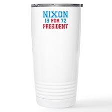 Retro Nixon 1972 Travel Mug