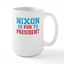 Retro Nixon 1972 Mug