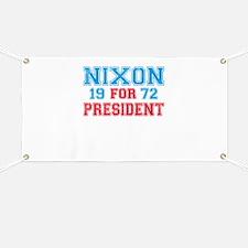 Retro Nixon 1972 Banner