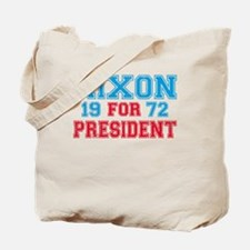 Retro Nixon 1972 Tote Bag