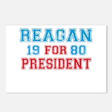 Retro Reagan 1980 Postcards (Package of 8)