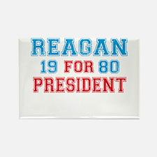 Retro Reagan 1980 Rectangle Magnet