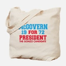 McGovern 1972 Gonzo Tote Bag