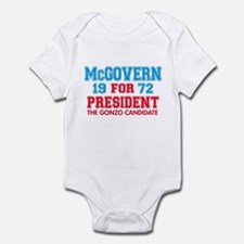 McGovern 1972 Gonzo Infant Bodysuit