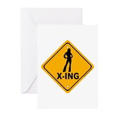 Babe X-ing Greeting Cards (Pk of 20)