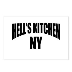 Hells Kitchen NY NYC Postcards (Package of 8)