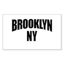 Brooklyn NY NYC Rectangle Decal