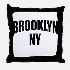 Brooklyn NY NYC Throw Pillow