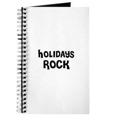 HOLIDAYS ROCK Journal