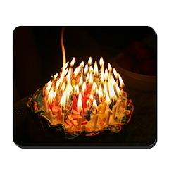 60 candles Mousepad