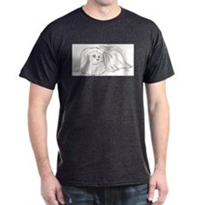 Fluffy Pekingese T-Shirt