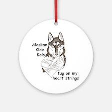 AKK Heart strings Ornament (Round)