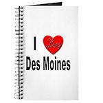 I Love Des Moines Iowa Journal