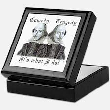 Shakespeare - It's what I do! Keepsake Box