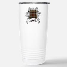 Flynn Tartan Shield Travel Mug