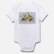 Pansies Infant Bodysuit