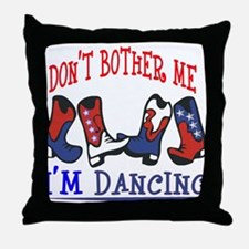 I'M DANCING Throw Pillow