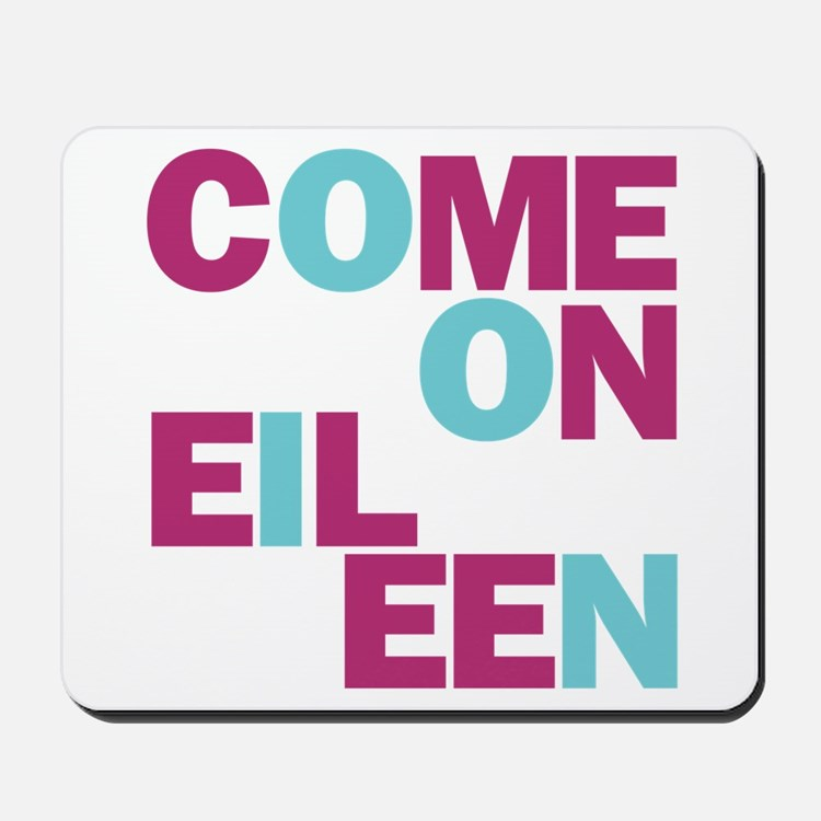 Come On Eileen Eighties Mousepad