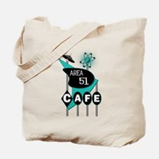 Area 51 Cafe Tote Bag