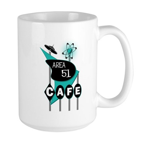 Area 51 Cafe Large Mug