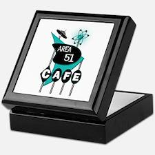 Area 51 Cafe Keepsake Box