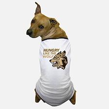 Hungry Like Wolf Duran Rio Dog T-Shirt