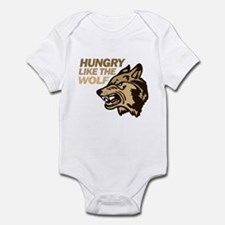 Hungry Like Wolf Duran Rio Infant Bodysuit
