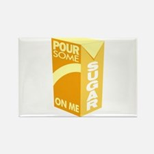 Pour Sugar Def Leppard Rectangle Magnet