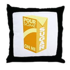 Pour Sugar Def Leppard Throw Pillow