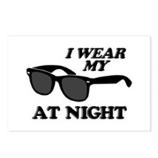 Wear Sunglasses Night Postcards (Package of 8)