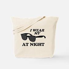 Wear Sunglasses Night Tote Bag