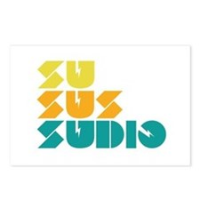 Sussudio Collins Postcards (Package of 8)