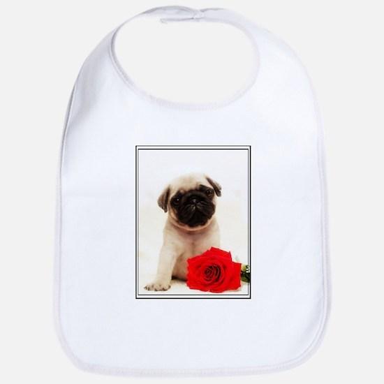 Pug Puppy Bib