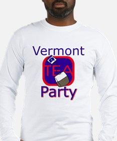 No Date: Vermont Tea Party: Long Sleeve T-Shirt