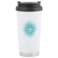 Unique Teal Travel Mug