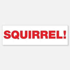 SQUIRREL Bumper Bumper Bumper Sticker